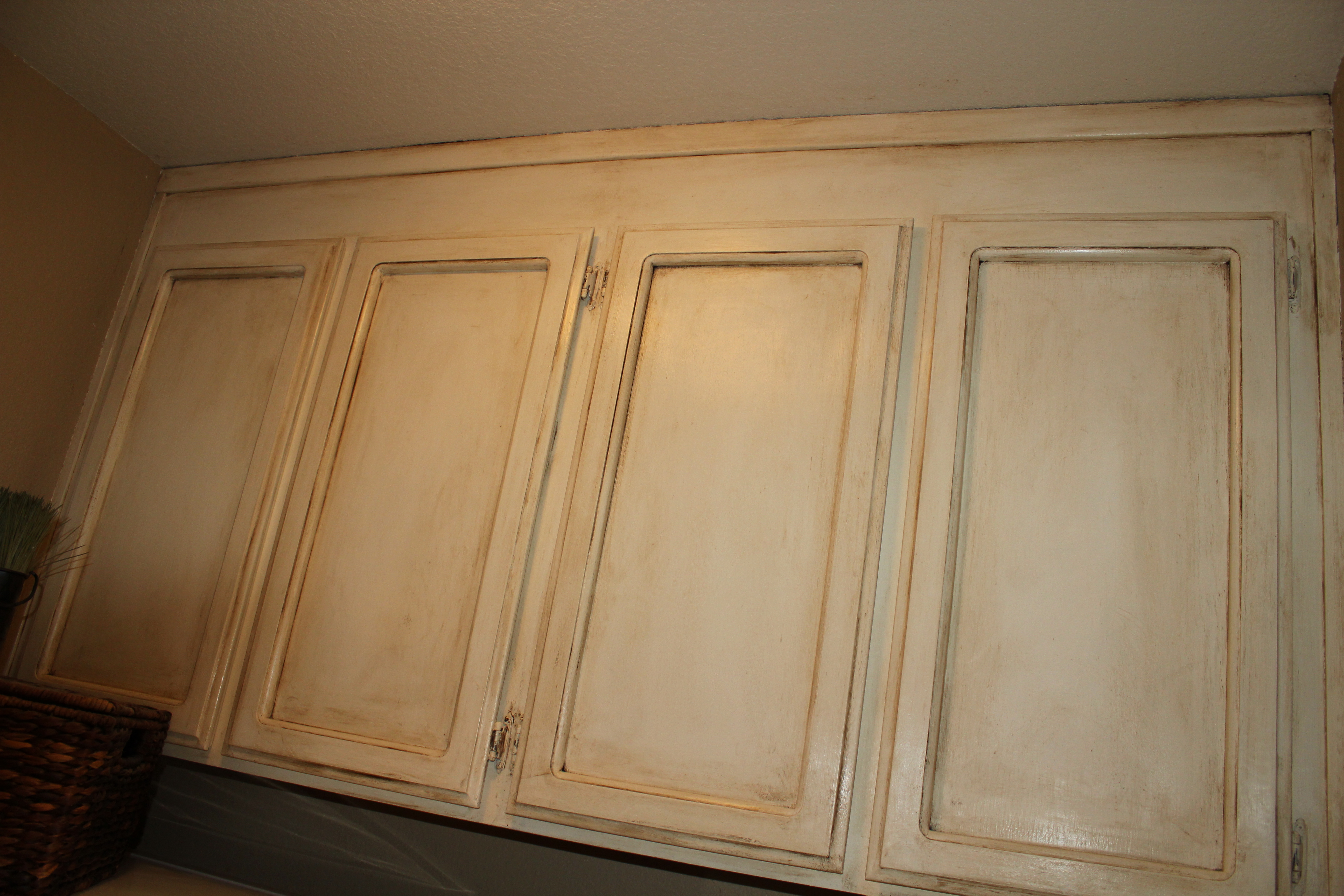 How To Paint Over Finished Kitchen Cabinets